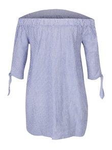 Bluză în dungi cu decolteu pe umeri  Dorothy Perkins Maternity