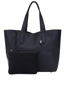 Geantă shopper neagră cu aspect 2 în 1 - Clarks Madelina Lily