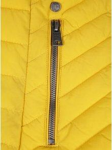 Geaca galbena matlasata pentru femei Garcia Jeans