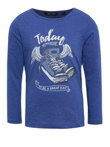 Tmavomodré detské tričko s potlačou Blue Seven