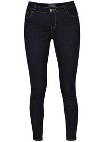 Tmavě modré skinny džíny kalhoty Dorothy Perkins
