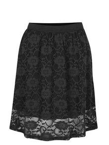 Čierna čipkovaná sukňa Jacqueline de Yong Green