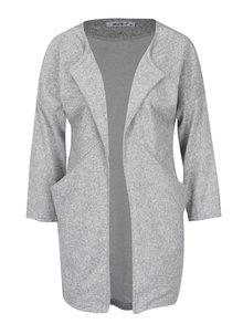 Světle šedý žíhaný cardigan s kapsami Haily´s Liliam