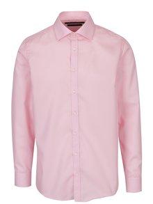Světle růžová pánská slim fit košile STEVULA