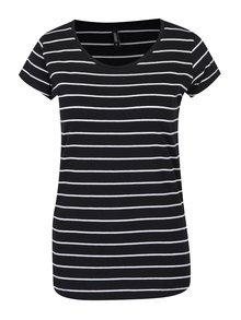 Bílo-černé pruhované tričko Haily´s Tari