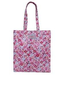 Růžová dámská květovaná taška Cath Kidston