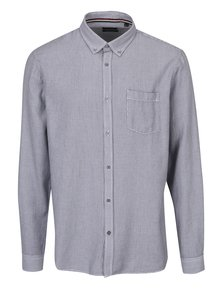 Čierno-sivá pánska košeľa s jemným vzorom Broadway Najee