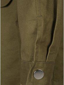 Khaki parka s aplikací ve tvaru perel Haily´s Pearlsky