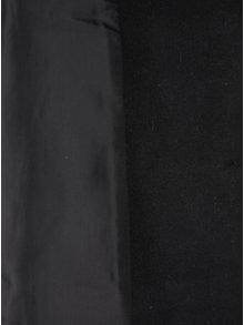 Jacheta groasa gri&negru cu model asimetric Desigual Rosita
