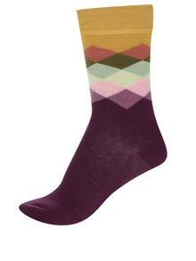 Sosete u model Happy Socks Faded Diamond