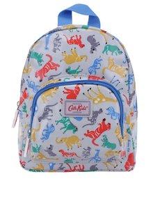 Modro-sivý chlapčenský batoh s motívom zvierat Cath Kidston