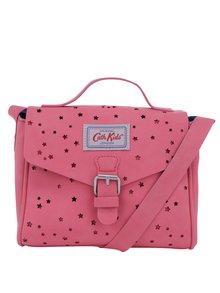 Růžová holčičí crossbody kabelka s hvězdičkami Cath Kidston
