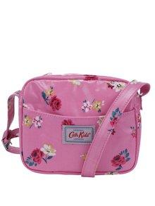 Růžová holčičí květovaná crossbody kabelka Cath Kidston