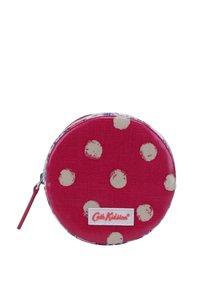 Tmavě růžová dámská kulatá peněženka Cath Kidston