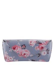Růžovo-modré květované pouzdro na brýle Cath Kidston