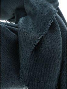 Eșarfă tricotată verde închis VERO MODA Solid