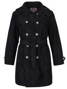Čierny tenký kabát Ulla Popken