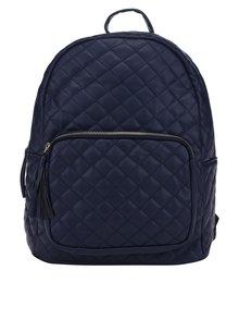 Tmavě modrý prošívaný batoh Pieces Nanci