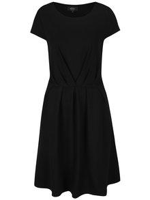 Čierne áčkové šaty s krátkym rukávom ONLY Stine