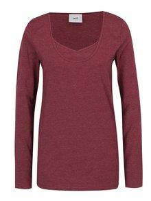 Bluză roșu bordo - Mama.licious Emmely