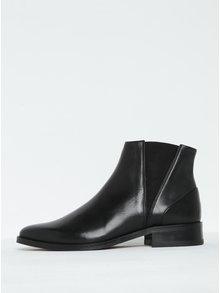Čierne dámske kožené chelsea topánky Royal RepubliQ