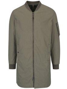 Jachetă lungă bomber kaki - Selected Homme Bomber
