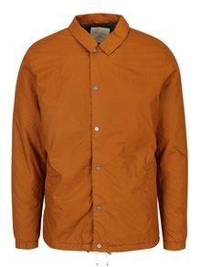 Jachetă oranj matlasată - Selected Homme Coach