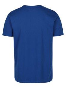 Modré tričko s krátkym rukávom Original Penguin Pin Point Embroidery