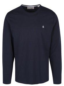 Tmavě modré tričko s dlouhým rukávem Original Penguin Pin Point