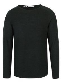 Tmavozelený sveter Selected Homme Bake