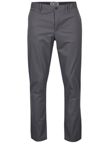 Sivé slim chino nohavice Original Penguin Fracus