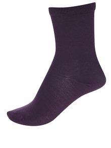 Vínové ponožky Selected Femme Bobby