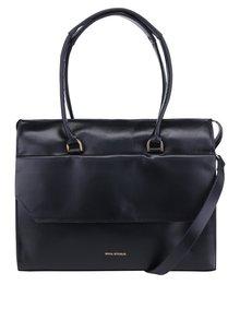 Černá kožená velká kabelka Royal RepubliQ