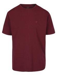 Vínové basic tričko s krátkym rukávom JP 1880
