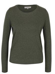 Kaki kašmírový sveter Selected Femme Aya