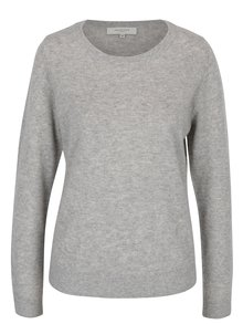 Sivý kašmírový sveter Selected Femme Aya
