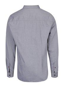 Svetlosivá pánska slim fit košeľa s.Oliver
