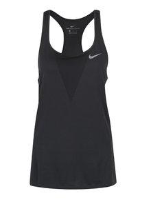Tmavosivé dámske funkčné tielko Nike