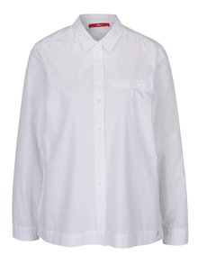 Bílá dámská košile s dlouhým rukávem s.Oliver