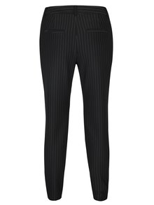 Pantaloni conici negri cu dungi  VERO MODA Victoria