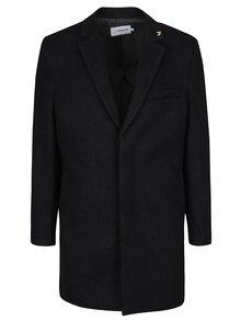 Tmavosivý vlnený kabát Farah Portobello