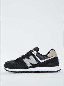 Sivo-čierne pánske tenisky New Balance