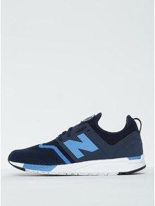 Modré pánske tenisky New Balance