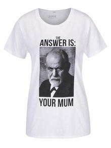 Biele unisex tričko ZOOT Originál Freud