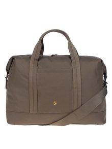 Khaki cestovní taška Farah Franks