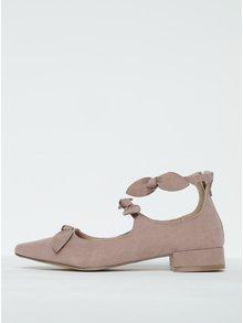 Staroružové topánky v semišovej úprave s mašľou Dorothy Perkins