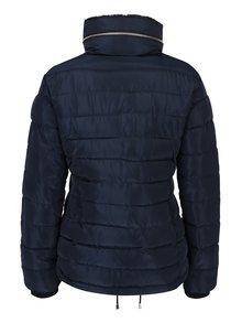 Tmavě modrá prošívaná zimní bunda Dorothy Perkins