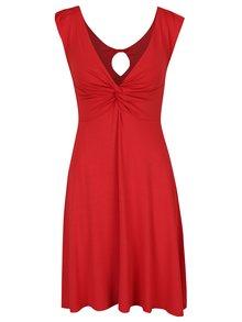 Rochie roșie cloș cu nod decorativ ZOOT