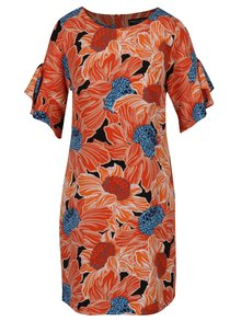 Rochie portocalie cu mâneci scurte Dorothy Perkins