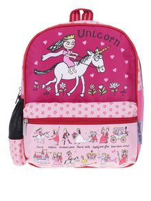 Ružový dievčenský vzorovaný batoh Tyrrell Katz Princess